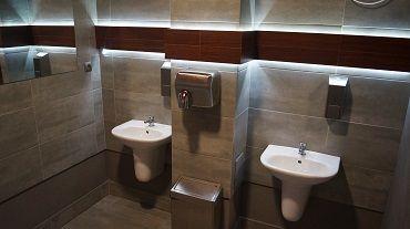 Wyższa Szkoła Bankowa - łazienki