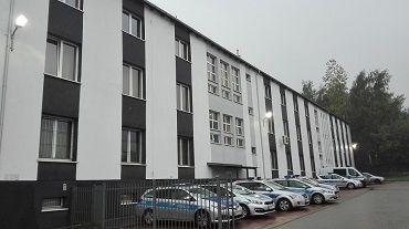 Remont elewacji budynku KM Policji